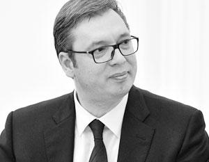 Вучич высказался о «шпионском скандале» в Сербии