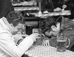 Алкоголизм в Литве гораздо более распространен - однако там принято упрекать в этом пороке прежде всего жителей России