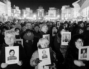 Миф о погибших на Майдане является частью идеологии Украины