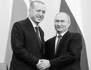 Кто-то пытается вбить клин в отношения между лидерами России и Турции