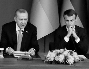 Теперь Макрону предстоит очень непростая встреча с Эрдоганом