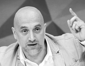 Майор ДНР Захар Прилепин теперь решил добиваться власти в России