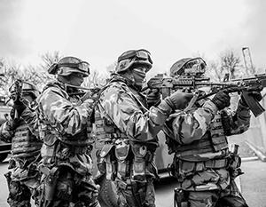 Гвардия Украины мысленно уже входит в Донецк в форме «муниципальной стражи»