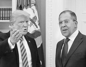 Единственная встреча Трампа и Лаврова в Белом доме состоялась 10 мая 2017 года