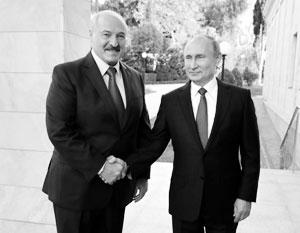 Россия и Белоруссия серьезно сблизили позиции по нефти и газу