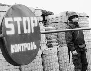 На Западе констатировали появление реальной границы в Донбассе