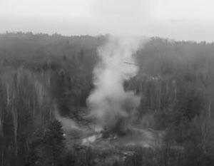 Опубликовано видео испытаний дверей командного пункта РВСН «ядерным взрывом»