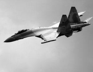 Российские Су-35 совершили перехват израильских истребителей
