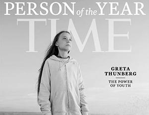 Из юной шведской активистки лепят героя будущего