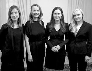 Кабинет министров Финляндии рекордно «молодой» и рекордно «женский»