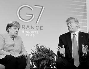 «Меркель объявила войну Трампу» это подтасовка фактов, причем подтасовка с умыслом