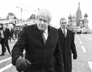 Два года назад Борис Джонсон уже прогуливался по Красной площади