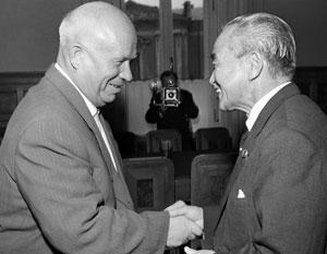 У Хрущева были очень серьезные причины для того, чтобы искать мира с Японией