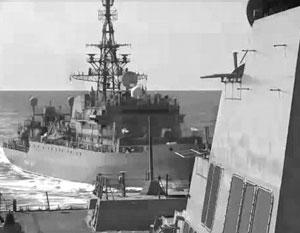 Последнее сближение военных кораблей России и США произошло 9 января 2020 года