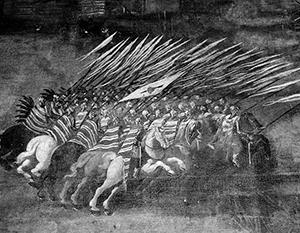 В 1610 году в Москву вошел польный гетман коронный Станислав Жолкевский