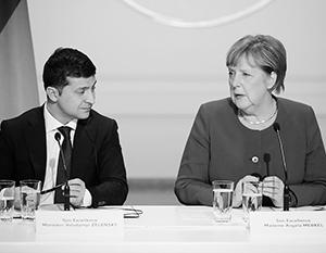 Канцлер заявила Зеленскому, что реформа Конституции Украины не устраивает европейцев