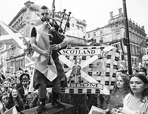Половина шотландцев мечтает о независимости