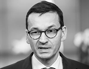 Премьер Польши Моравецкий назвал СССР «пособником нацистской Германии»