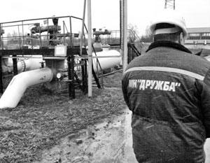 Один из способов давления Белоруссии на Россию – транзит топлива по нефтепроводу «Дружба»