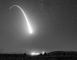 Падение ядерной боеголовки выглядит именно так