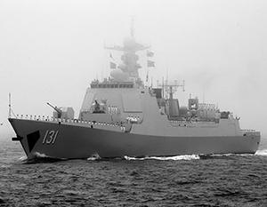 По темпам строительства флота Китай опережает все ведущие страны мира, в том числе США