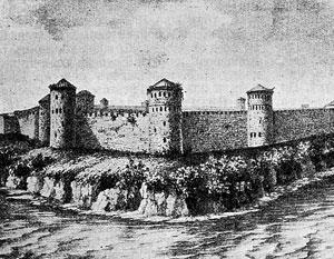 Пограничный Ивангород много раз переходил из рук в руки