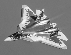Су-57 пока еще выпущен в единичных экземплярах