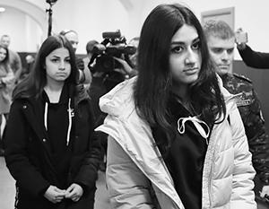 Убившим отца сестрам Хачатурян грозит от восьми лет тюрьмы до пожизненного заключения