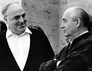 L'unification de la RDA et de la RFA n'est devenue possible que parce que l'Union soviétique lui a donné son «feu vert»