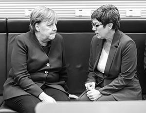 Из Аннегрет Крамп-Карренбауэр не вышло достойной преемницы Ангелы Меркель