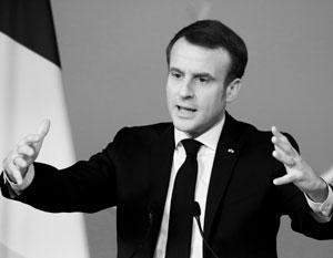 Макрон решил подготовить новую концепцию единой Европы