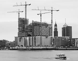 Строительство «Филармонии на Эльбе» в Гамбурге превысило смету практически на порядок