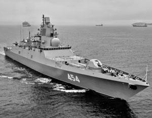 Новейший фрегат «Адмирал Горшков» стал одной из платформ для испытания ракет «Циркон»