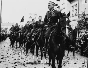 Польские уланы собирались воевать не против Германии, а против более слабых соседей