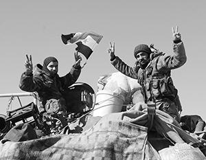 Сирийцы снова празднуют победу - доставшуюся в этот раз дорогой ценой