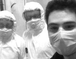 Давид Беров мгновенно превратился в символ борьбы с коварным вирусом в Москве