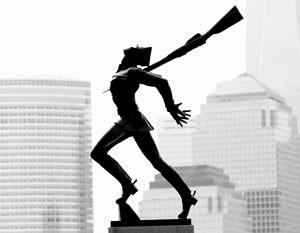 Памятник жертвам Катыни в США