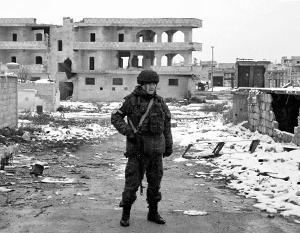 Российская военная полиция теперь находится там, где раньше находились боевики и турецкая армия