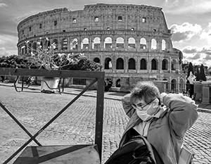 Улицы Рима опустели – коронавирус отбил у туристов желание смотреть на Колизей