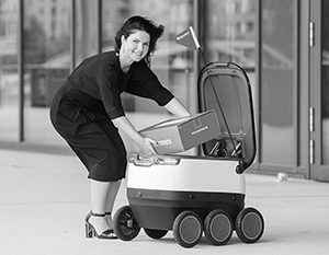 Роботы удаленной доставки, судя по всему, одна из наиболее перспективных технологий будущего