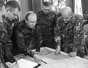 Российские военные в итальянском генштабе – это фото обошло весь мир