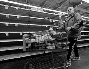 Американцы внезапно узнали, что такое дефицит продуктов