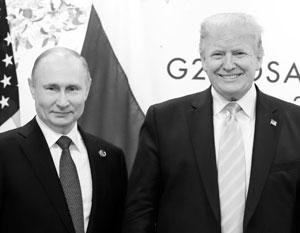 Путин пообещал Трампу отправить на помощь американцам самолет с медоборудованием