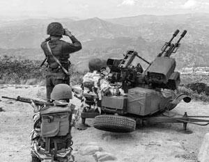 Венесуэльские артиллеристы готовы отразить военную авантюру Трампа