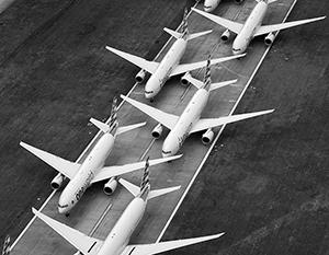 Самолеты Boeing теперь надолго будут прикованы к земле