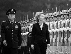 Глава общеевропейского правительства Урсула фон дер Ляйен в Китае