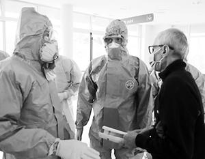Российские врачи открыли прием больных в итальянском Бергамо