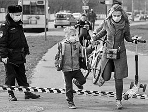 Похоже, многих юных москвичей «спровоцировала» на нарушение карантина солнечная погода