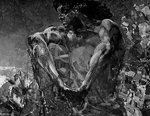 Фото: Михаил Врубель Демон сидящий