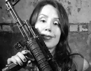 Татьяна Черновол разожгла гражданскую войну на Украине в буквальном смысле